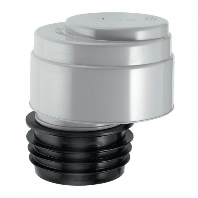 Вакуумный клапан для канализации: специфика работы и монтажа