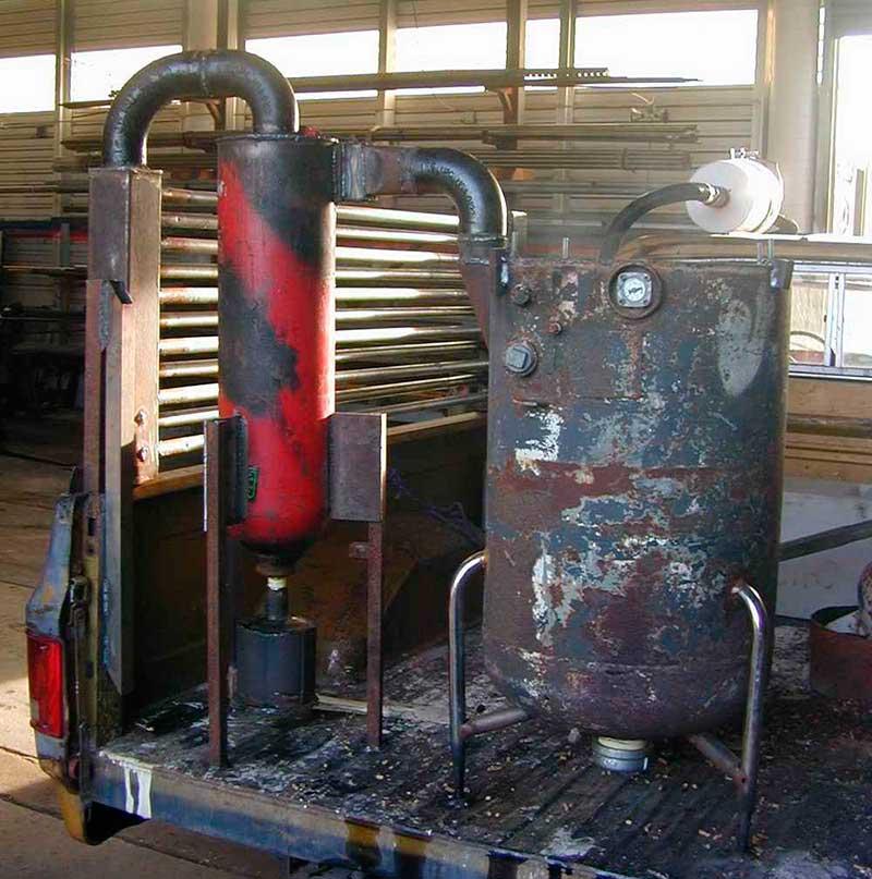 Газогенератор своими руками: как сделать самодельный прибор - точка j