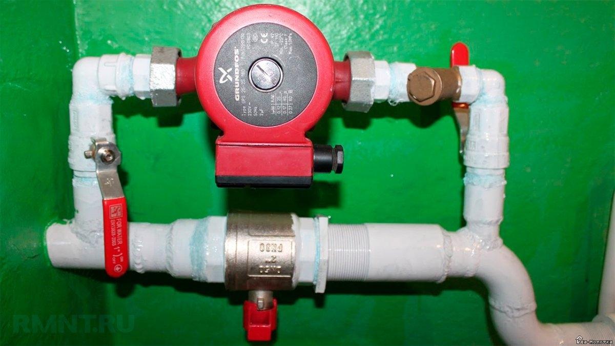 Системы отопления с насосной циркуляцией: схемы устройства и работы