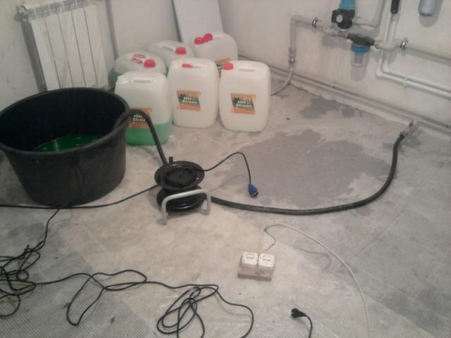 Как правильно заполнить открытую и закрытую систему отопления в частном доме