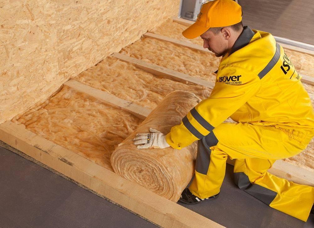 Материалы для утепления деревянного перекрытия