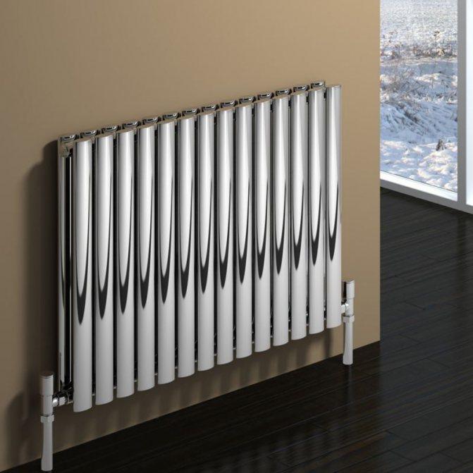 Трубчатые радиаторы и батареи отопления: стальные, вертикальные, отзывы