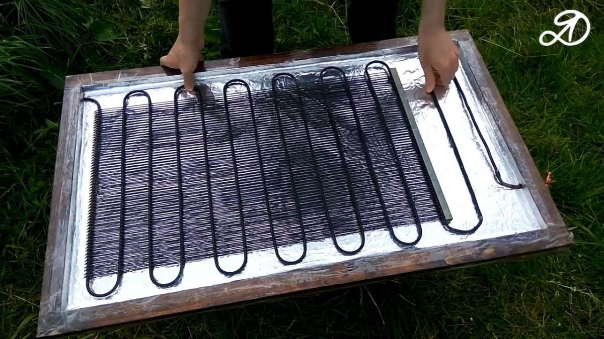 Солнечный коллектор своими руками - инструкция по монтажу!