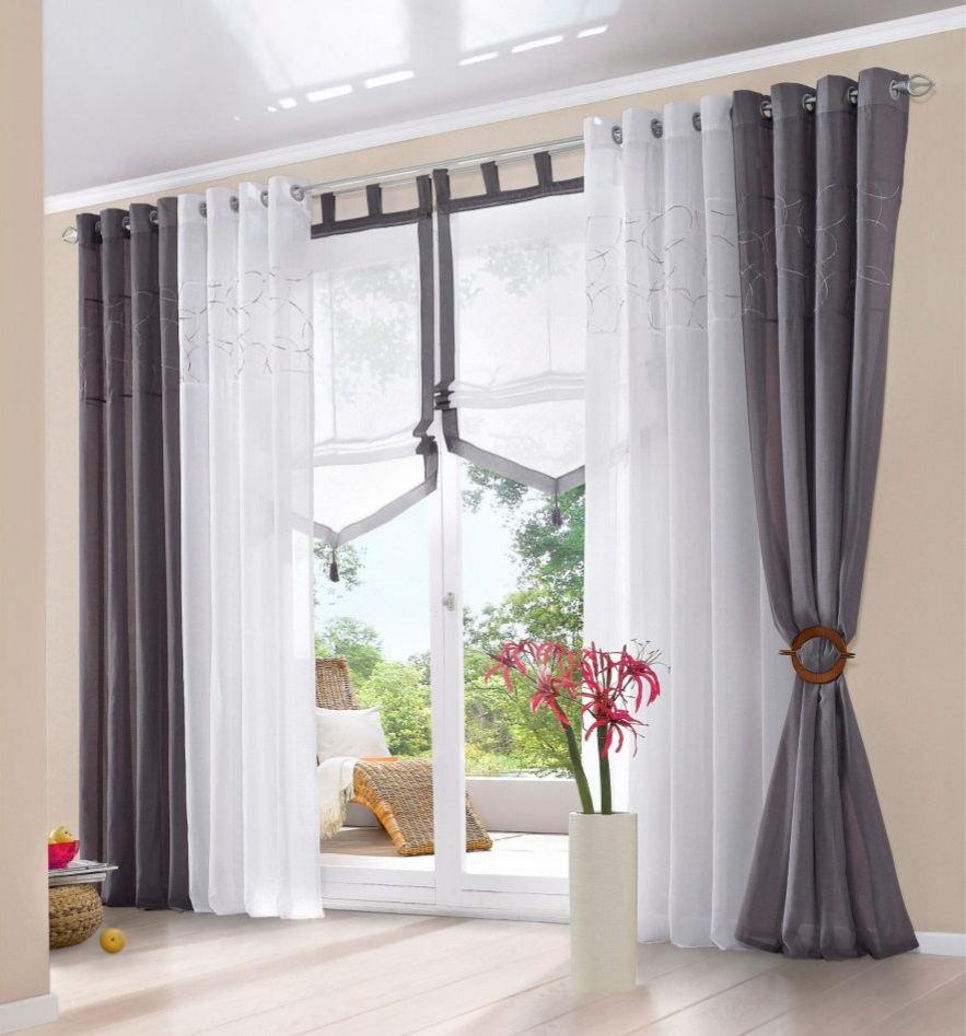 Лучшие варианты, чтобы красиво повесить тюль на окна