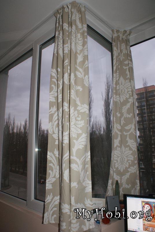 Занавески на балкон: 5 лучших вариантов с пошаговыми инструкциями