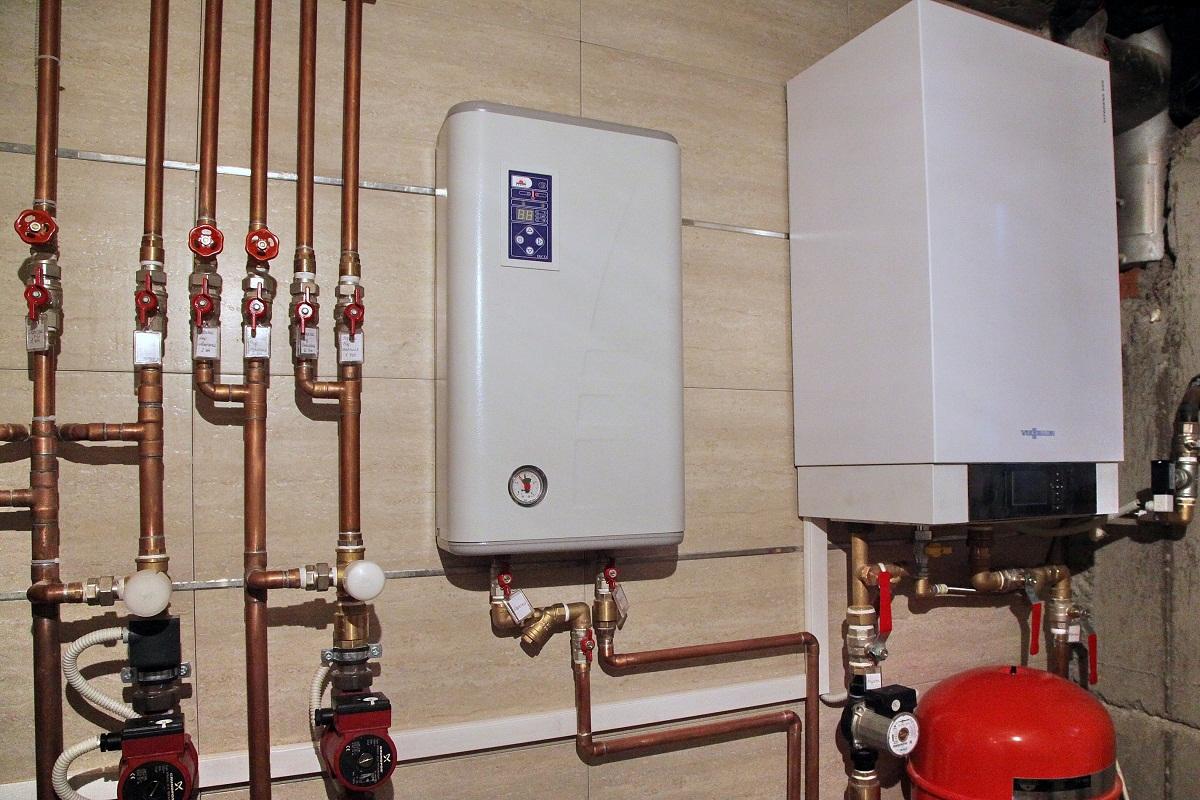 Котлы отопления для дома – газовый, твердотопливный, электрический
