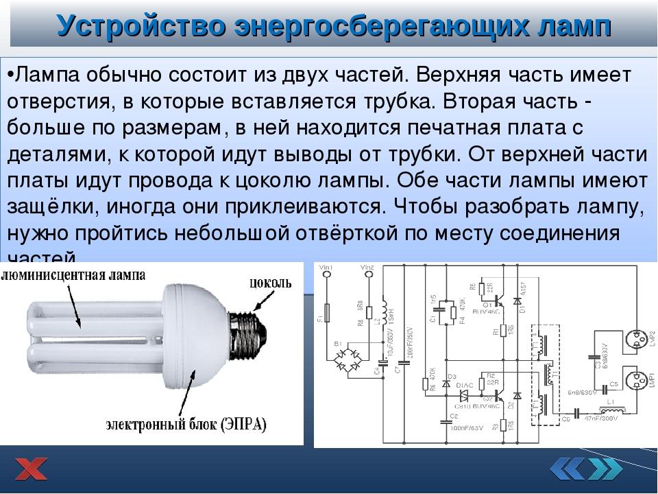 Энергосберегающие лампы: характеристики, плюсы и минусы