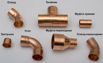 Медные трубы для отопления