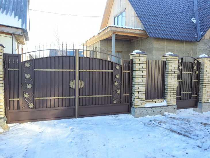 Виды ворот для частного дома