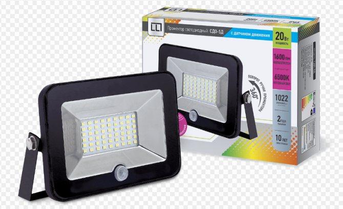 Светодиодные лампы с датчиком движения - какую лучше выбрать