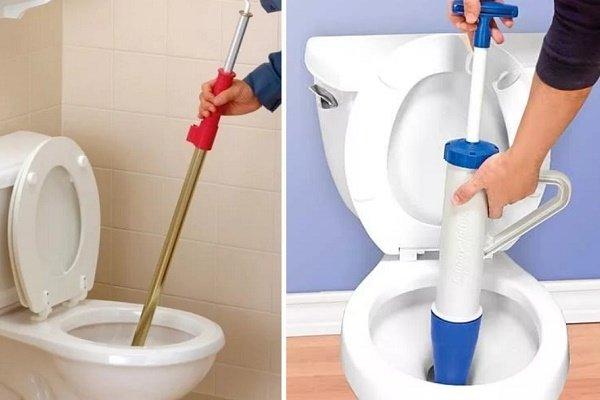 Как прочистить самостоятельно унитаз в домашних условиях, если он забился?
