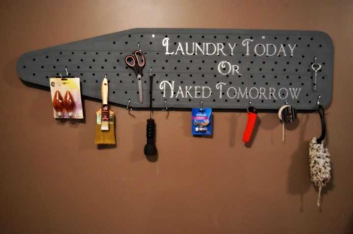 Идеи хранения гладильной доски в маленькой квартире