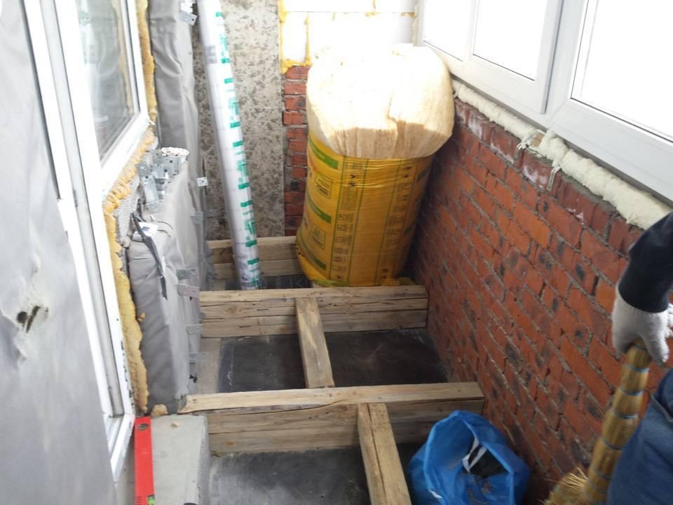 Утепление балкона своими руками - пошаговая инструкция (30 фото)