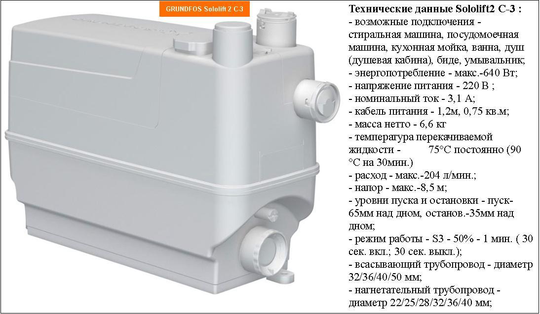 Сололифт для канализации — характеристики, принцип работы со схемой, инструкция по установке и отзывы с видео