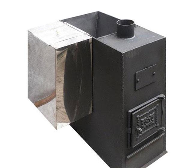 Газодровяные печи для бани: виды, характеристики и способы выбора