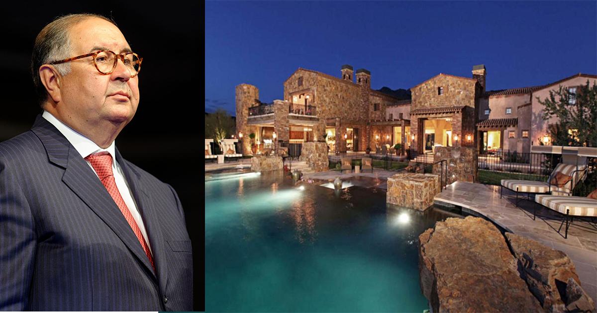 Дома миллиардеров - где живут самые богатые: фото