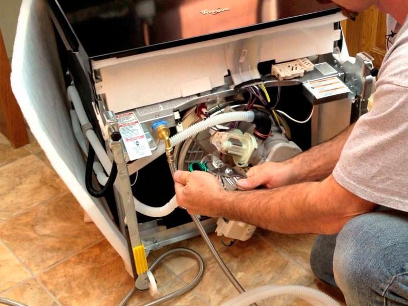 Ремонт посудомоечной машины своими руками: советы с видео