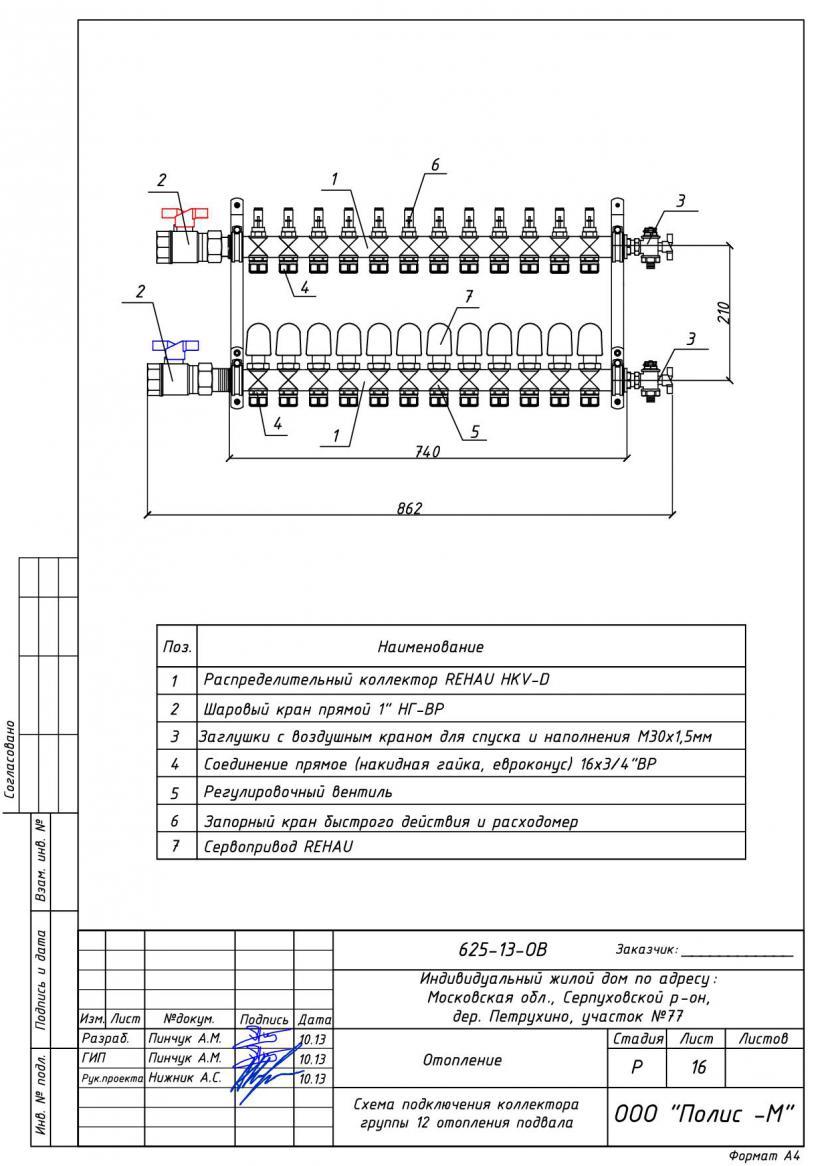 Распределительный коллектор отопления своими руками: схемы, нюансы сборки - точка j