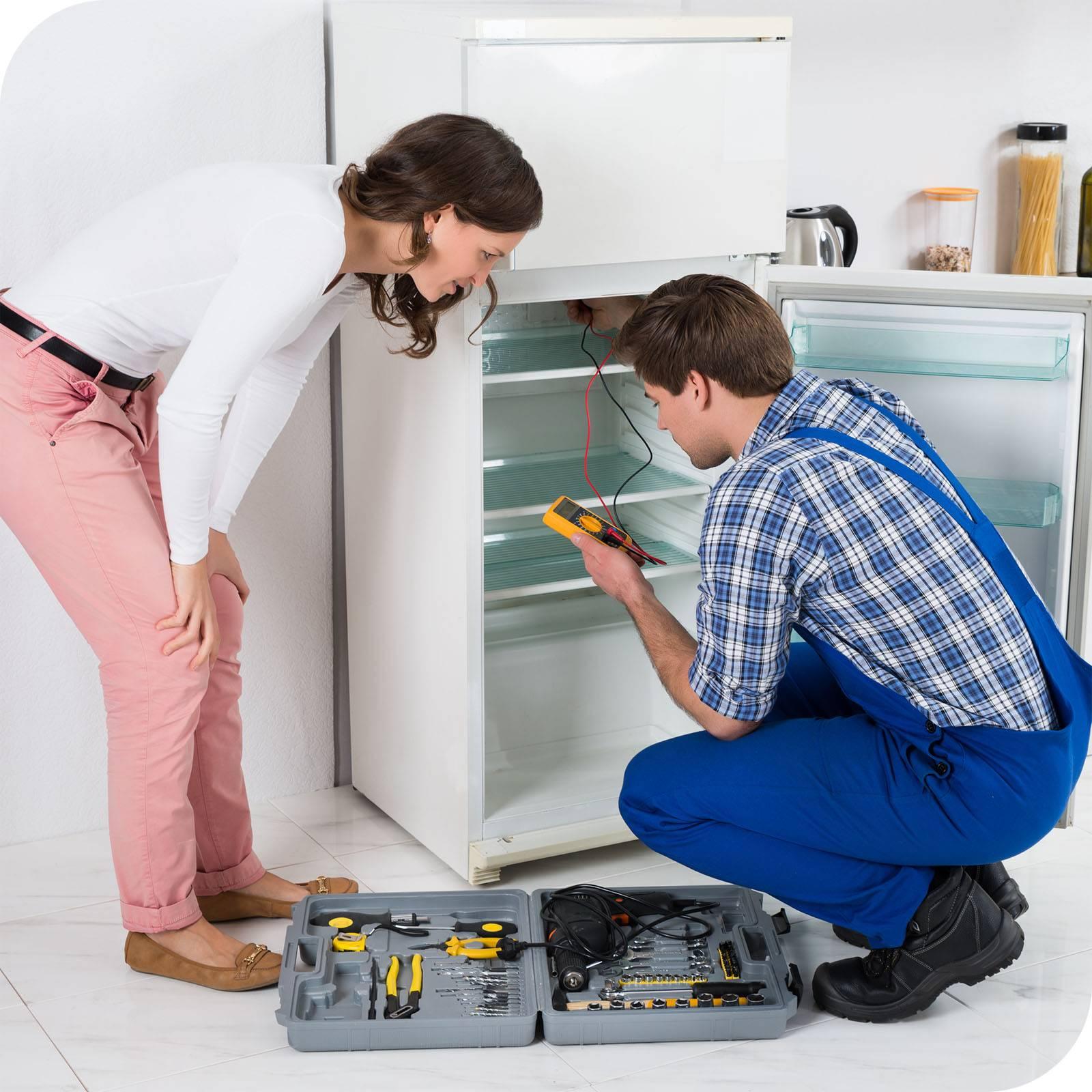 Почему холодильник не работает, а лампочка и свет горит?