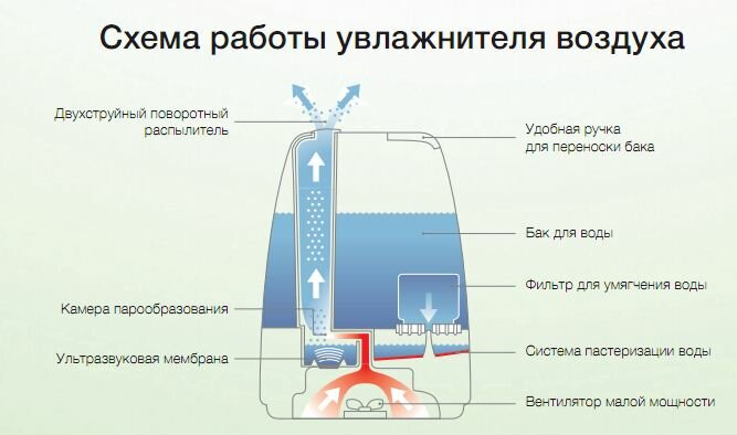 Как выбрать бесшумную модель увлажнителя воздуха – топ 5