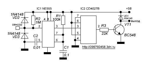 Сенсорный выключатель своими руками: конструкция и правила подключения