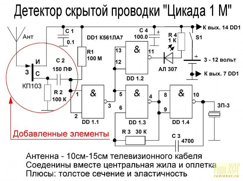 Детектор скрытой проводки – купить или сделать самим?