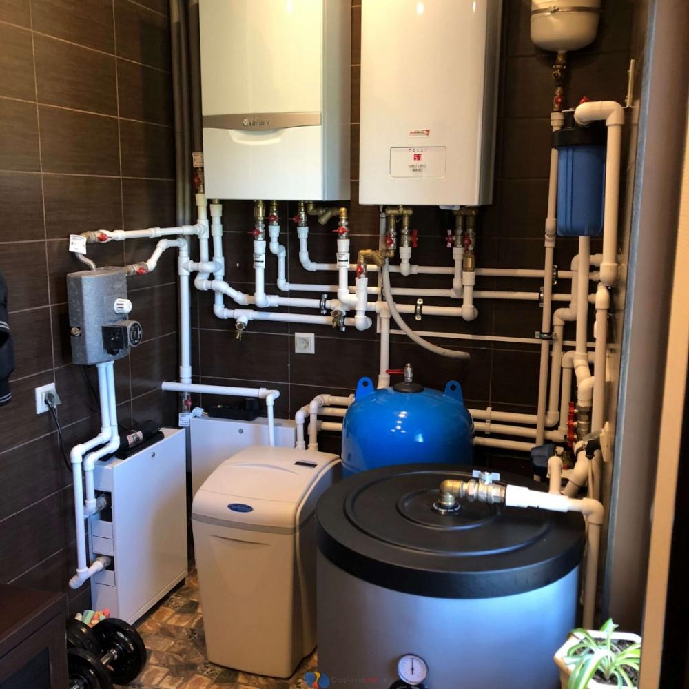 Проектирование, расчет, комплектация и монтаж систем отопления загородного дома.