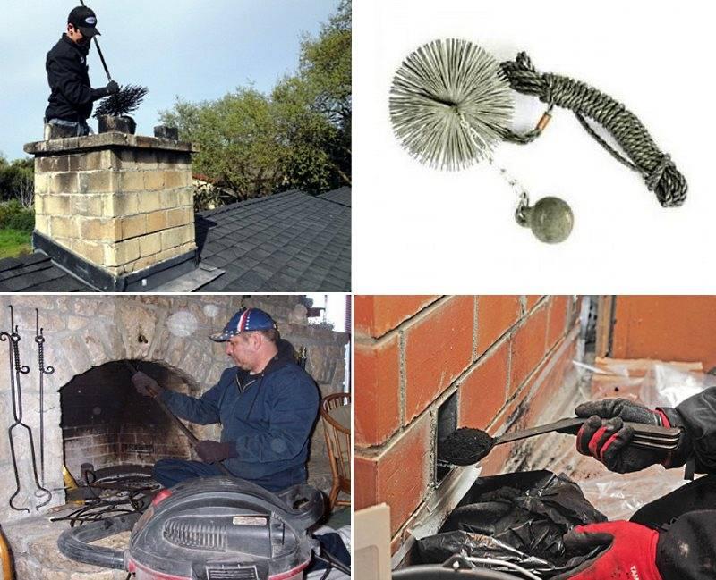 Как прочистить дымоход в частном доме – советы по чистке трубы дымохода