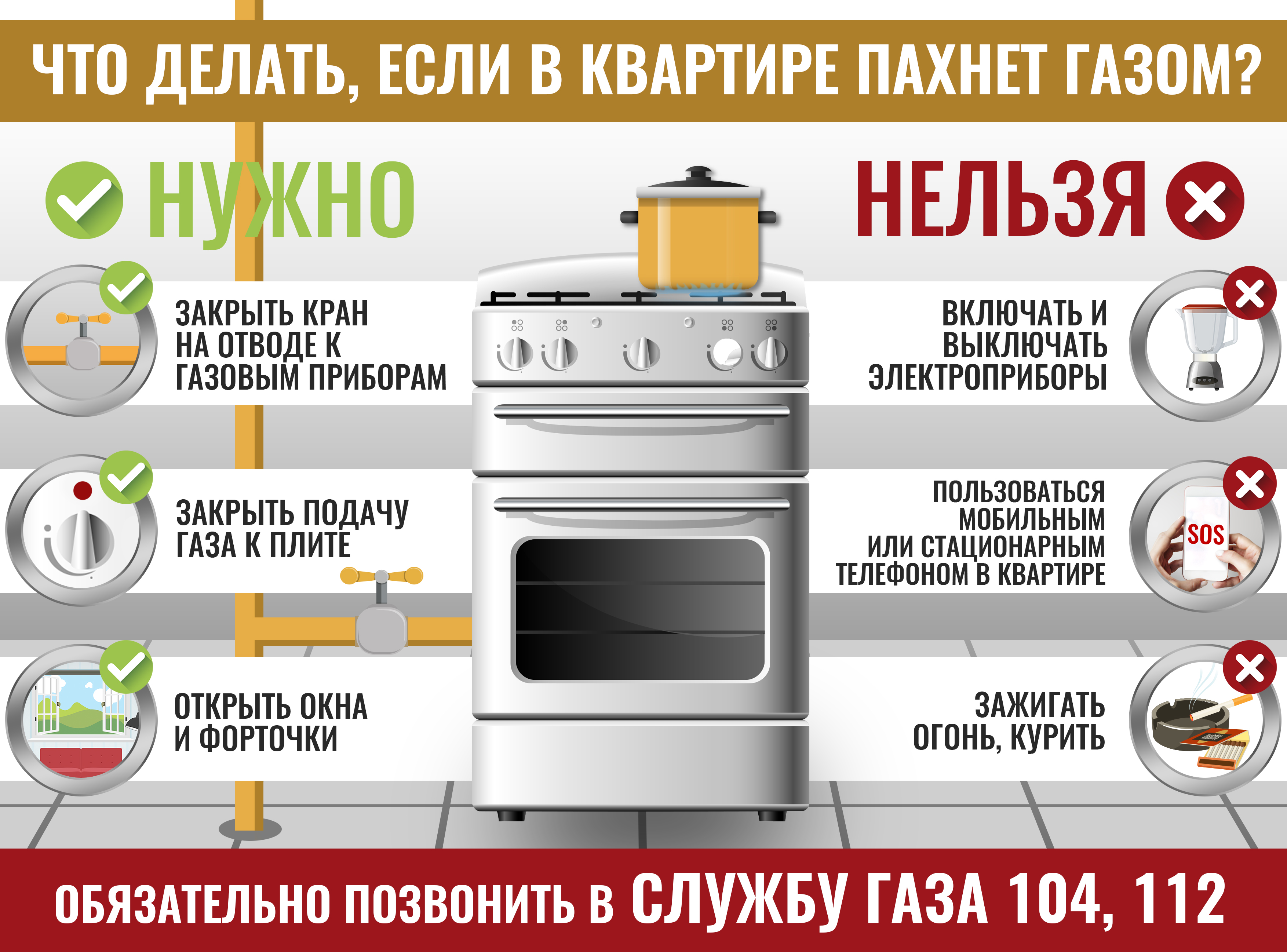 Как заметить утечку газа и что делать, чтобы избежать взрыва. понятная инструкция от спасателей - новости - 66.ru