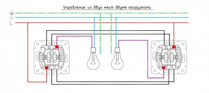 Правила подключения перекидного рубильника