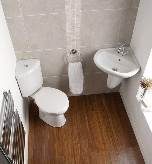 Дизайн туалета маленького размера (фото)