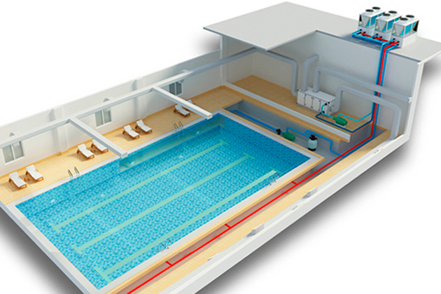Вентиляционные системы частных бассейнов — расчет вентиляции бассейна