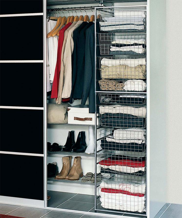 Секреты идеального порядка в шкафу, полезные советы и лайфхаки