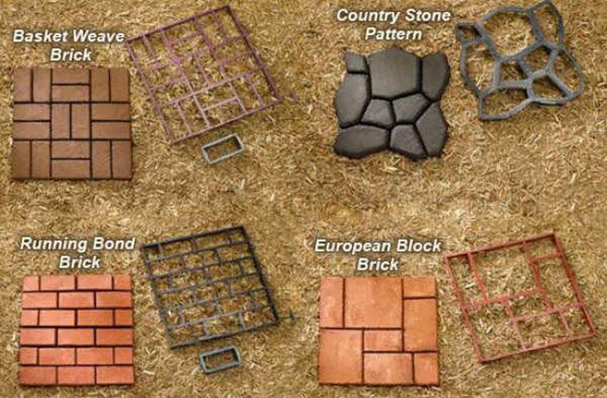 Форма для тротуарной плитки своими руками. изготовление форм для тротуарных плит :: syl.ru