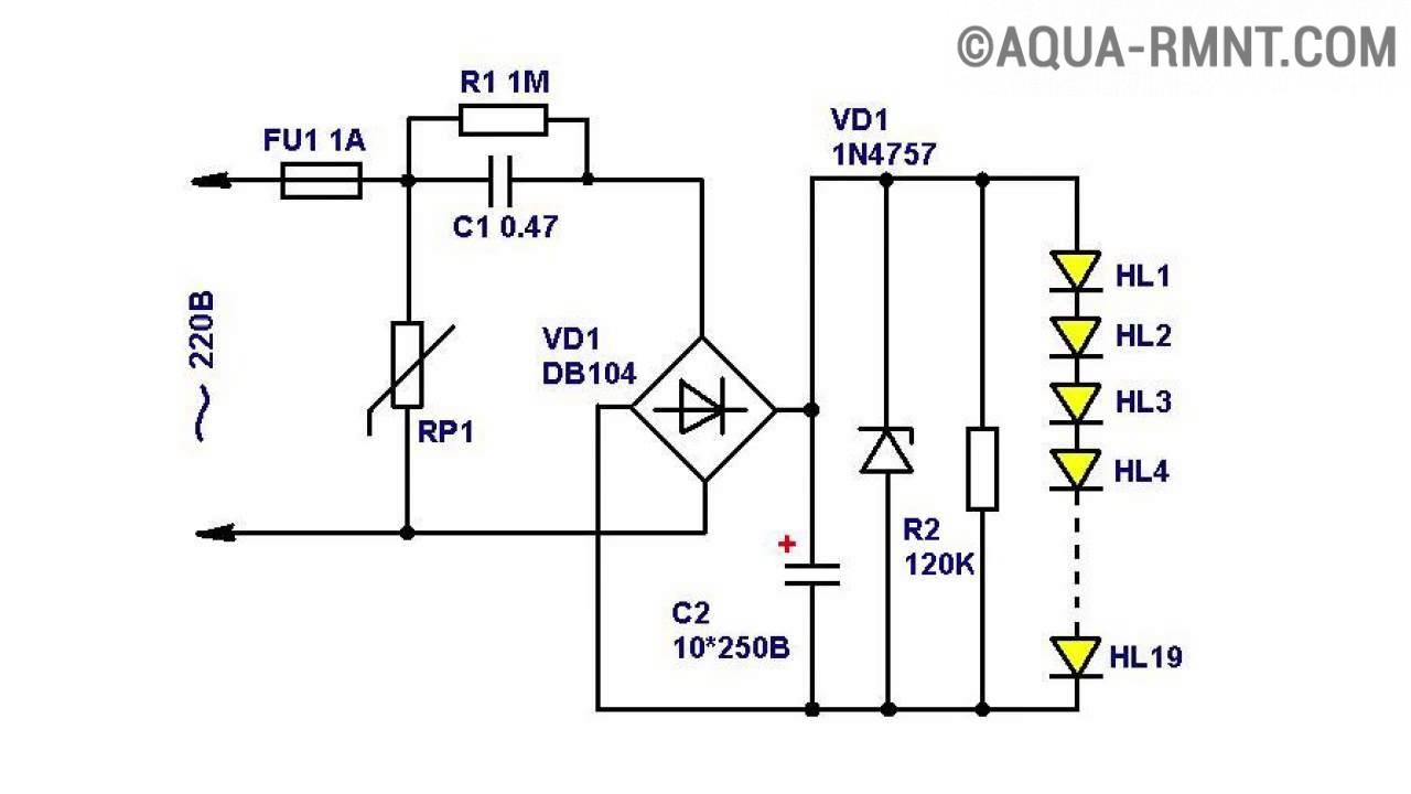 Светодиодные драйверы для led ламп и светодиодов виды и типы