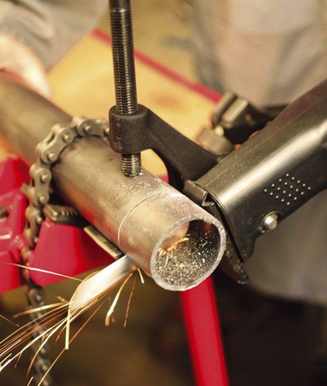 Виды труборезов и способы резки стальных труб