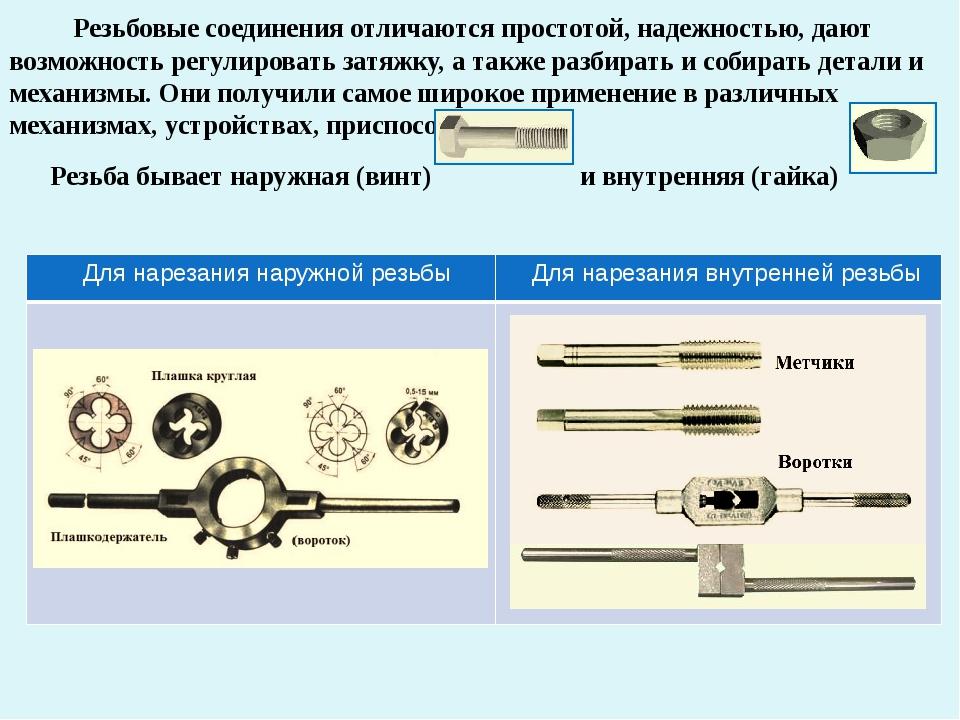 Чем и как выполнить нарезание резьбы на трубах?