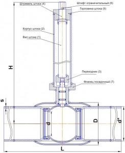 Особенности шаровых кранов для подземной установки