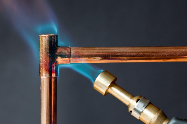 Технология монтажа медного трубопровода своими руками