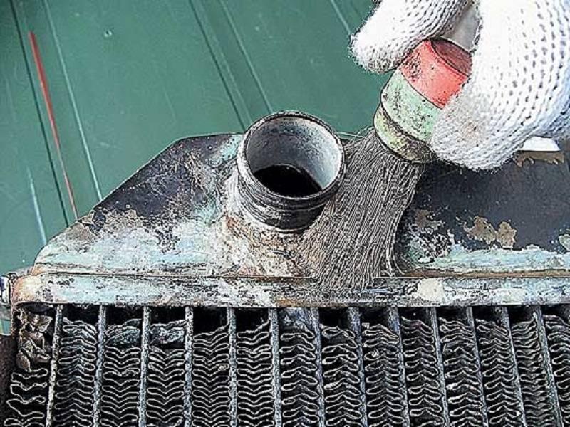 Как запаять радиатор охлаждения