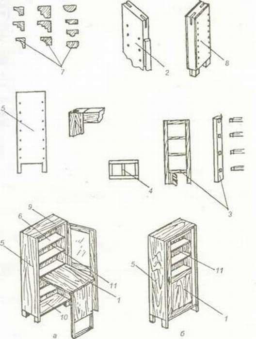 Пошаговая инструкция, которая даст возможность сделать угловой шкаф купе своими руками с учетом особенностей жилья