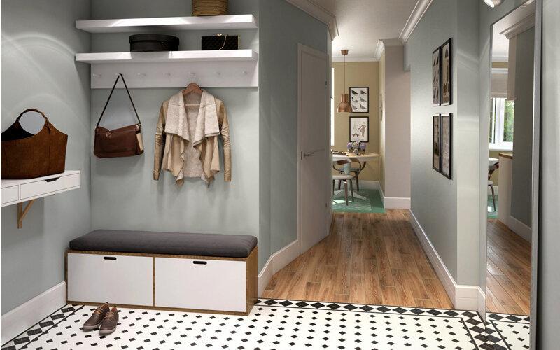 Как оформить коридор - стили, аксессуары и варианты исполнения