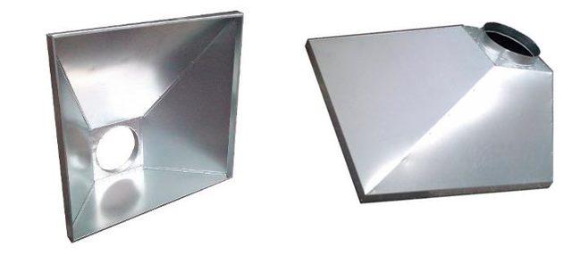 Вытяжной вентиляционный зонт своими руками из листовой оцинкованной стали
