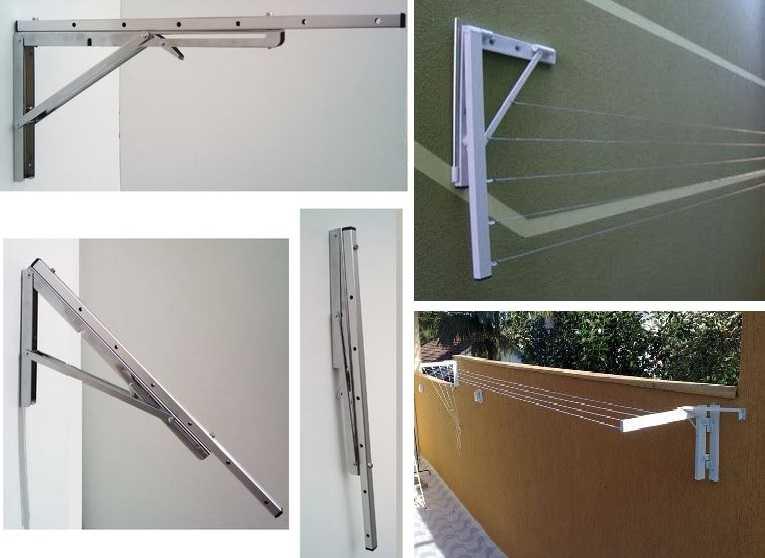 Сушилки для белья на балкон: виды, как выбрать, фото