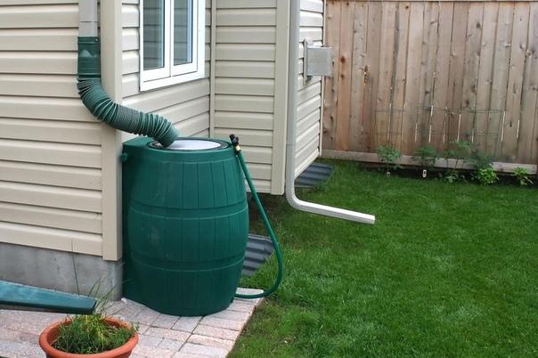 Как организовать систему сбора дождевой воды