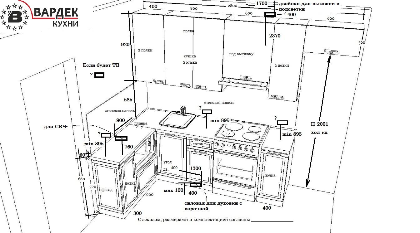 Установка и подключение розеток на кухне - правила монтажа своими руками