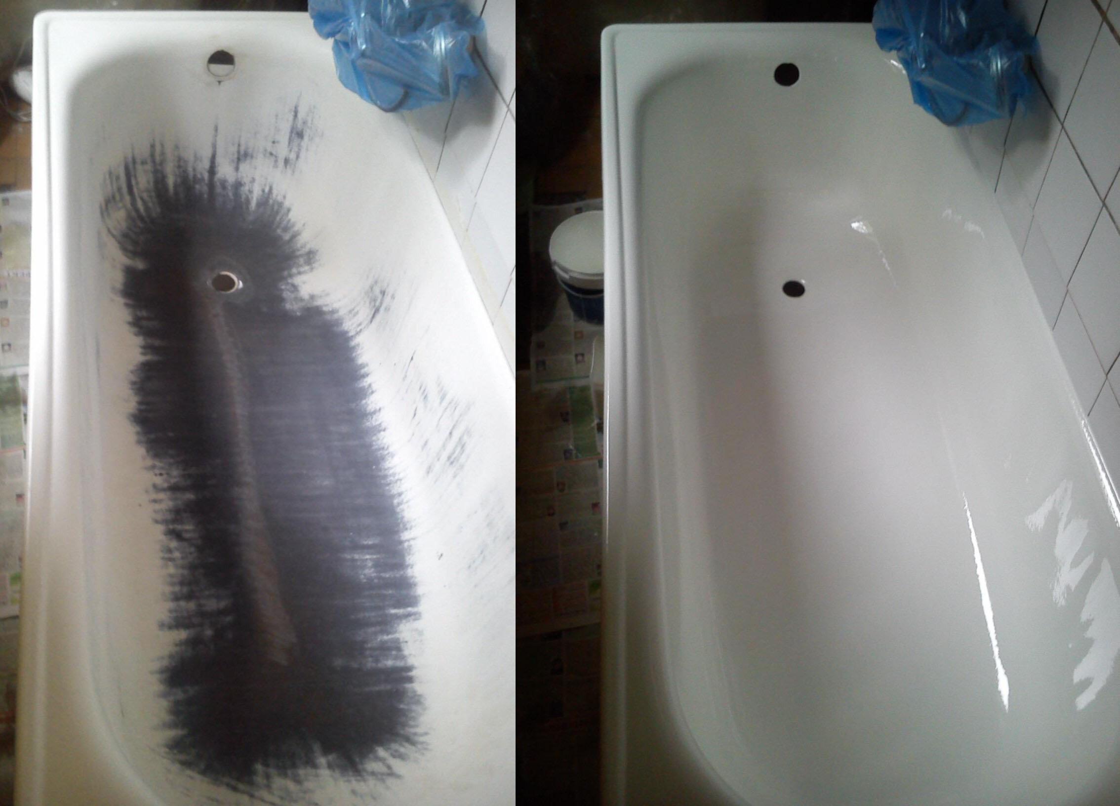 Лучшие способы восстановления эмали ванны без привлечения специалистов