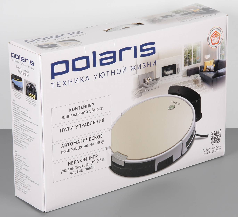 Polaris pvcr 0826 – обзор робота-пылесоса для влажной уборки