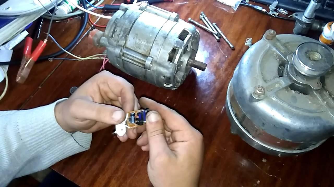 Ветряк из двигателя стиральной машины: все, что нужно знать домашнему мастеру