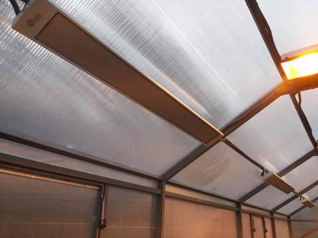 Какие бывают инфракрасные обогреватели для теплицы из поликарбоната: 5 видов